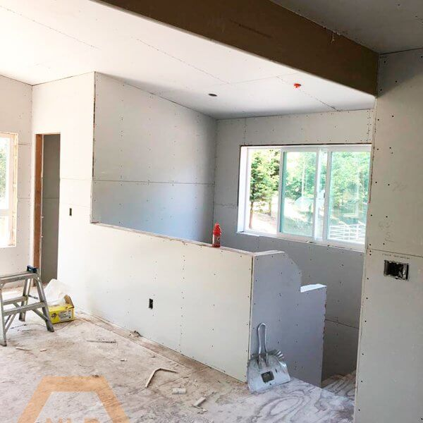 Drywall and taping - Residential Remodel