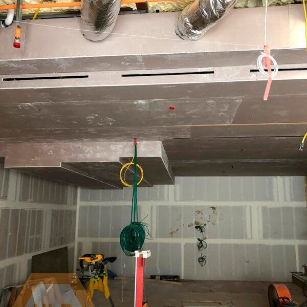 Drywall and taping - Commercial Remodel
