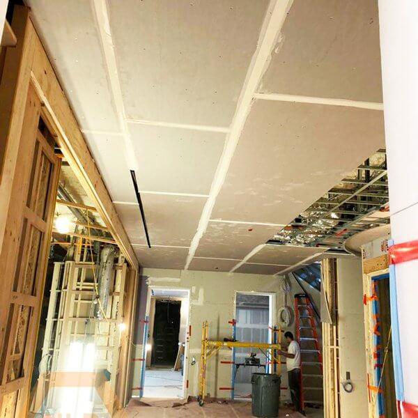 Level 4 drywall finish Home Renovation