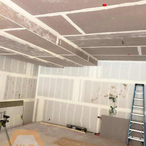 Level 4 drywall finish Commercial Renovation