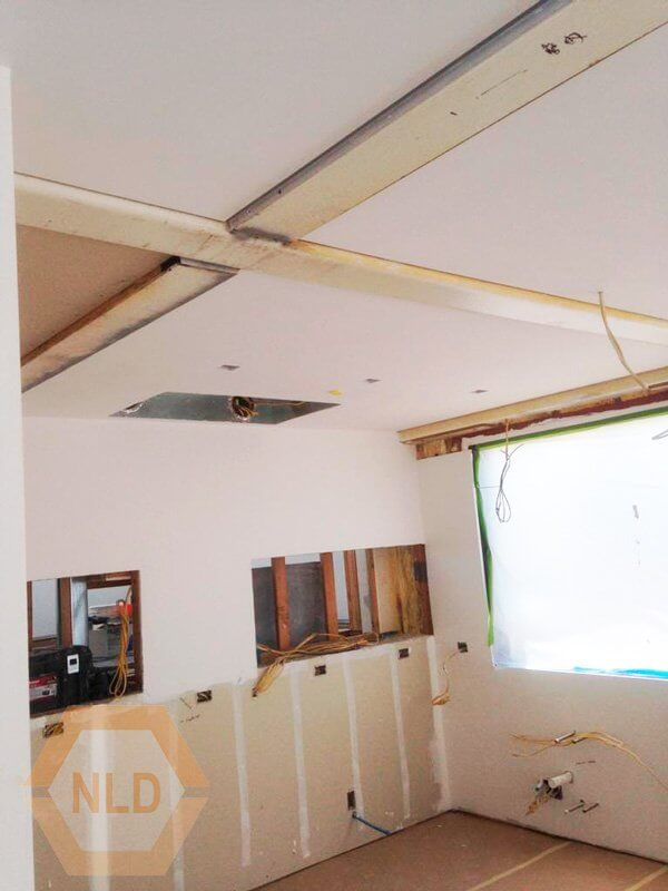 Level 5 drywall finish Commercial Renovation