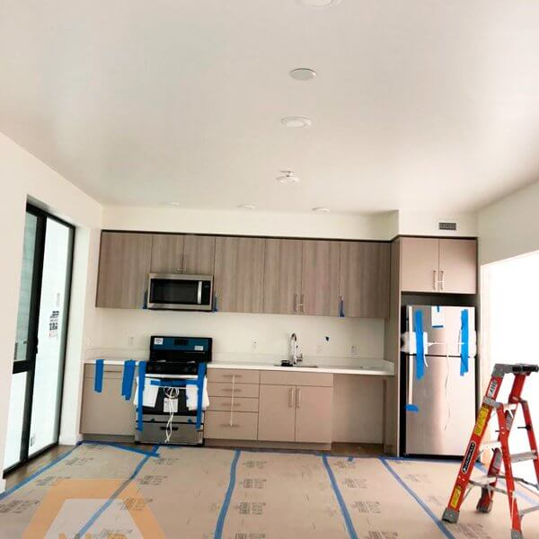 Level 5 drywall finish Residential Renovation